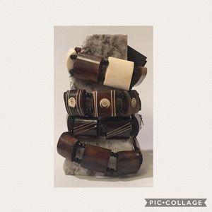 Wooden Stacking Bracelets
